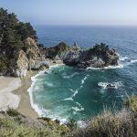 Mcway Falls California Coast Big Sur